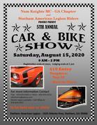 NKMC 5th Annual Car and Bike Show-Statham, GA
