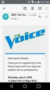 Auditioned For the Voice!!!..Made 2nd Round!!