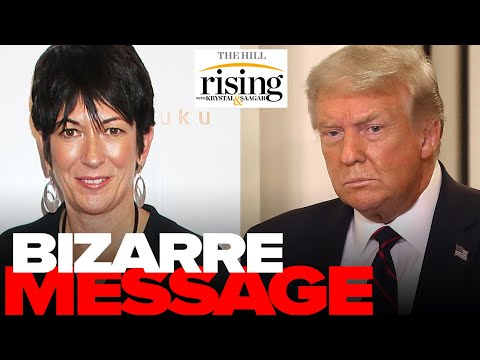 Trump's BIZARRE Message To Ghislaine Maxwell, 'I Wish Her Well'