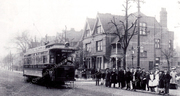 Catching the Tram to Green Lanes, c1905