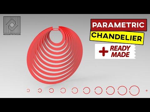 Parametric Chandelier