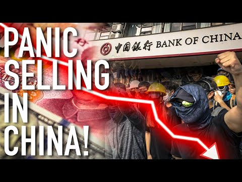 Panic Selling In China: Investors Dump Everything! Prepare For Bank Collapse And China's Yuan Crash