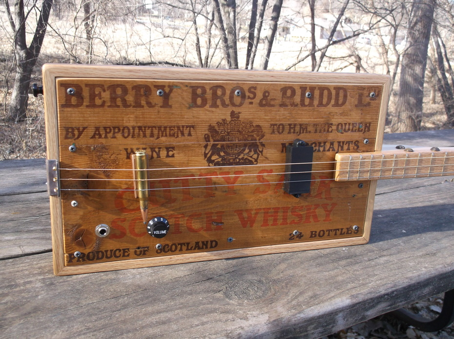 Cutty Sark Scotch Whiskey 3 String Guitar