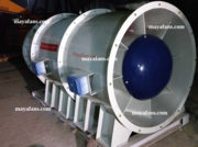 Energy efficent axial flow FRP fans