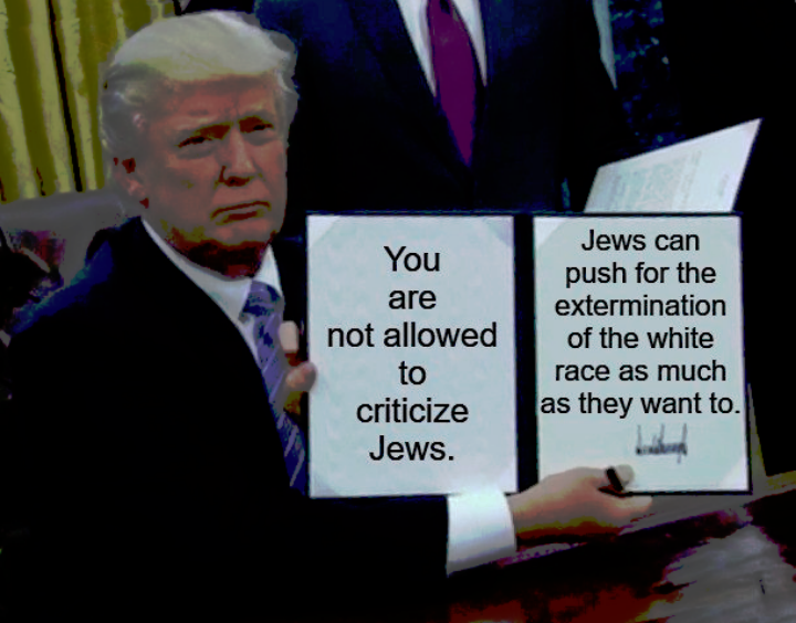 How much does President Trump know,Every Fuckin' Jew Thing