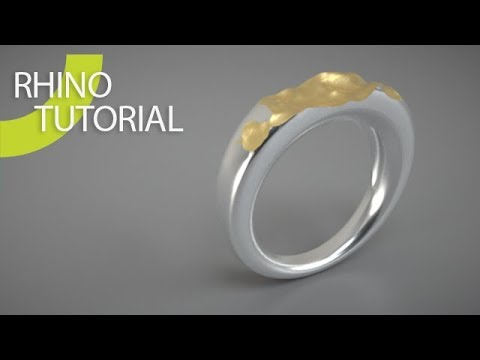 Rhino 3D Heighfield Ring
