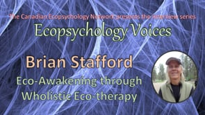 Ecopsychology Voices Interview with Brian Stafford