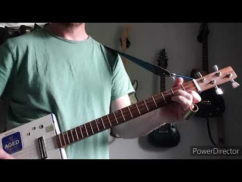 If It Makes You Happy - Sheryl Crow - Cigar Box Guitar Cover
