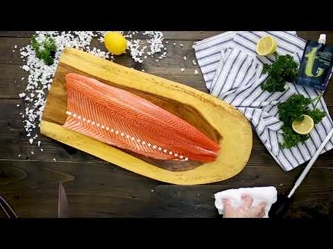 Salmon by Thammachart Seafood - Ready to Cook !