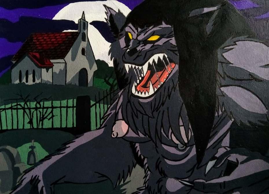 Werewolf Purple Pam