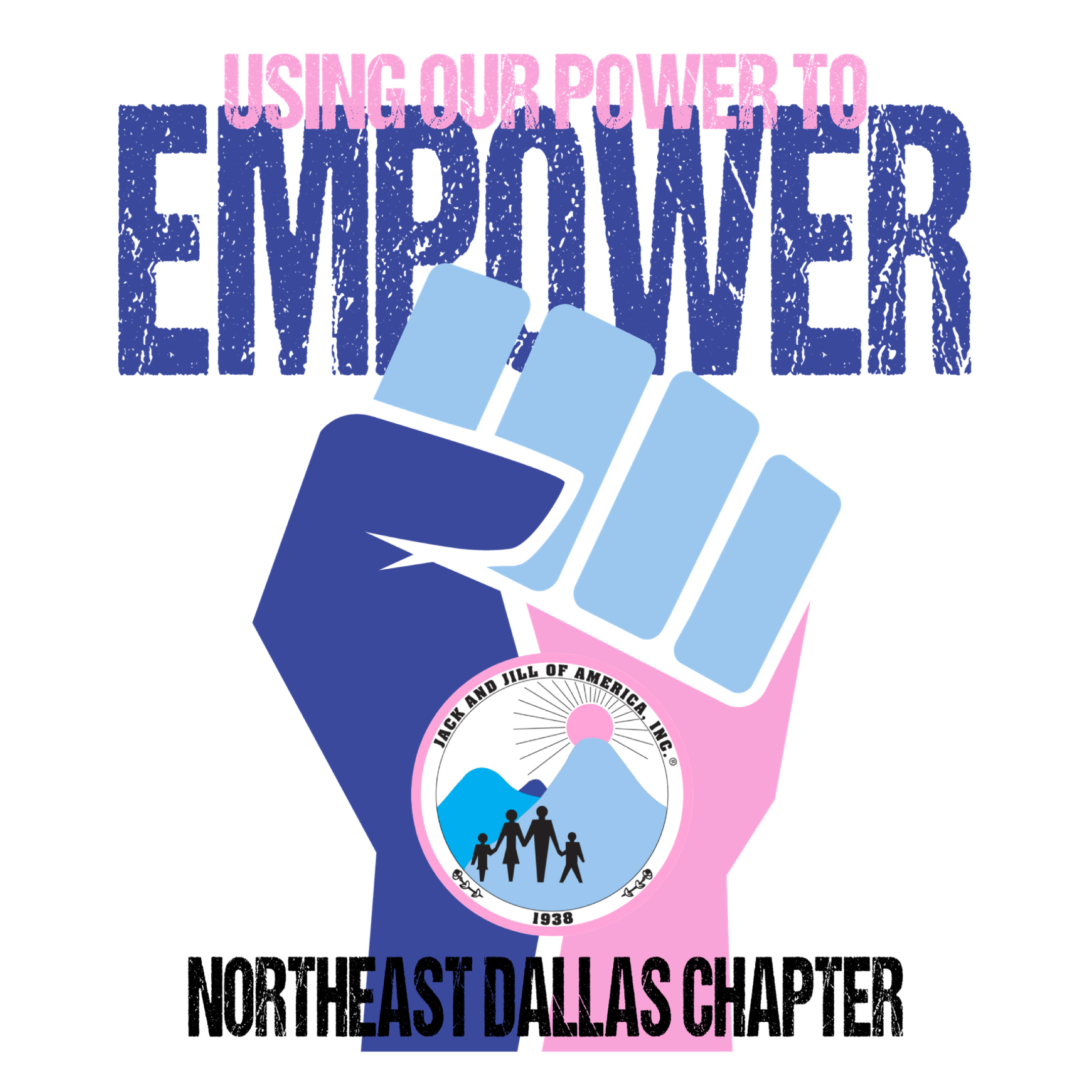 Jack and Jill of America, Inc.    Northeast Dallas Chapter Logo