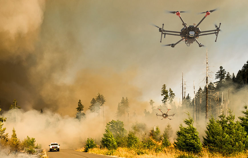 Drone Disaster Relief - How Drones are Used for Disaster Response