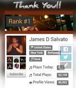Reaching my first #1 with Number One Music!