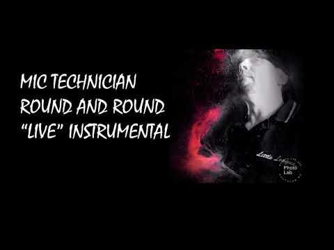 Round & Round Live Instrumental