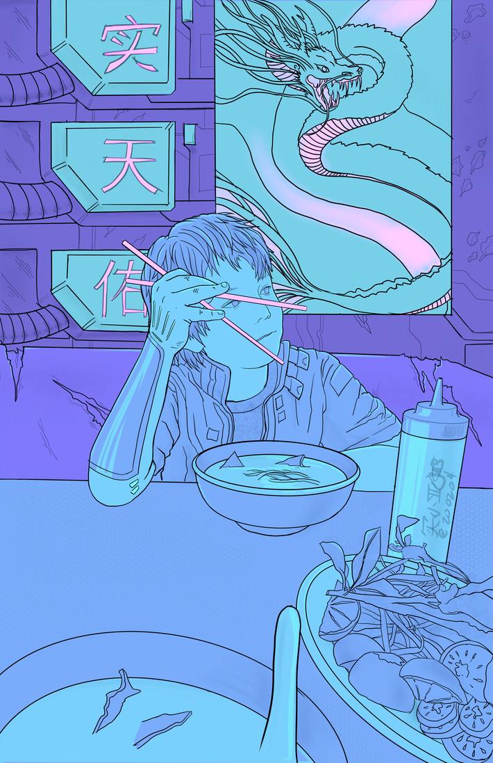 14_男儿菜 Ethan pho dinner