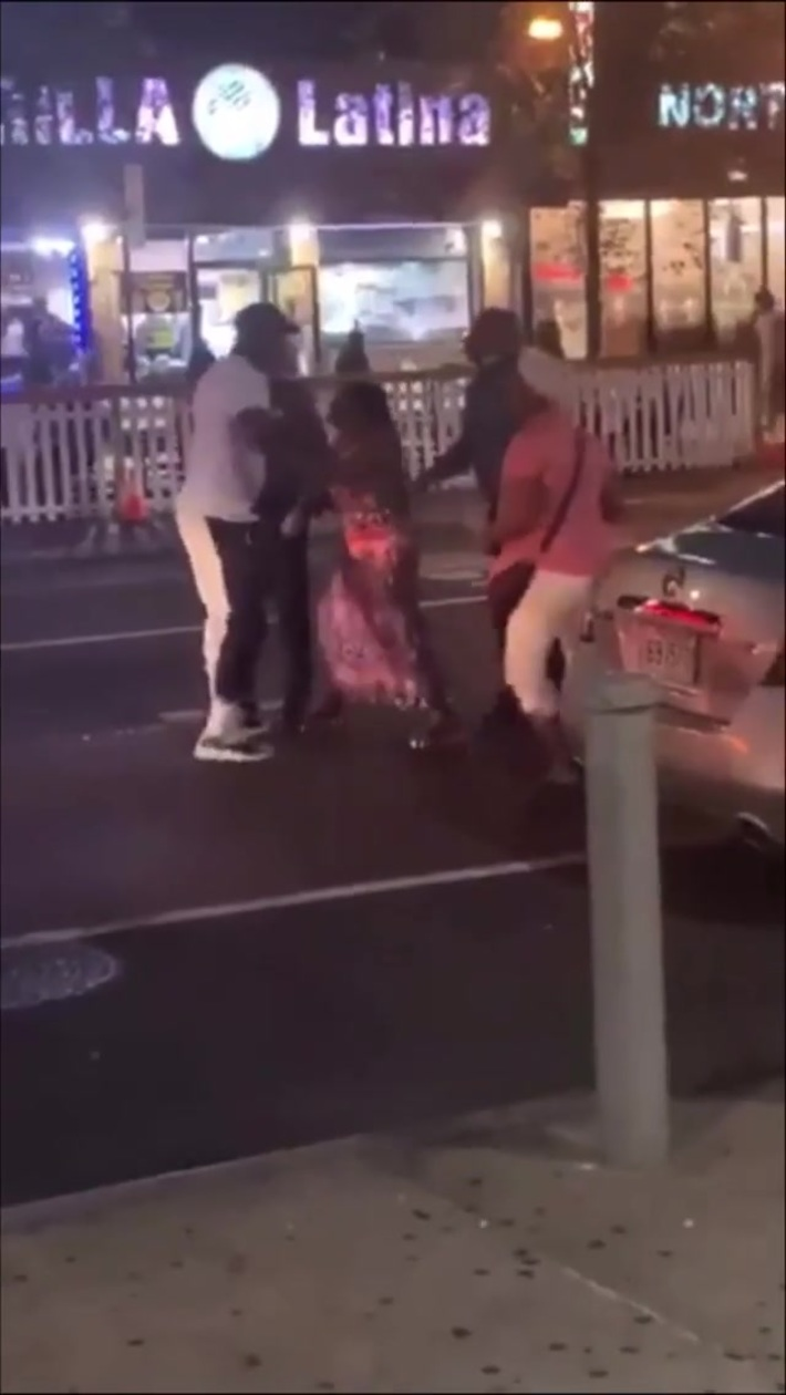 Man fights with 2 cops