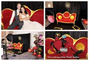 Red Carpet Photo Booth Rentals / Wedding Open Air Formal Backdrops