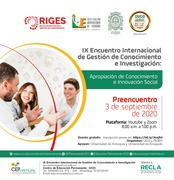 IX Encuentro Internacional de Gestión de Conocimiento e Investigación 2020