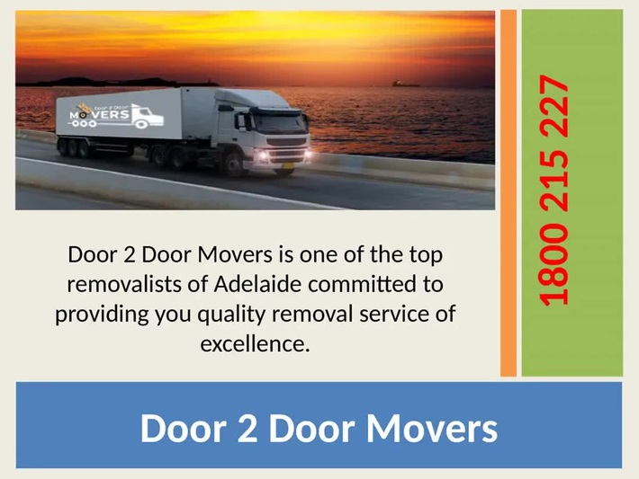 Removalists Adelaide - 1800 215 227 - Removalists Company of Adelaide
