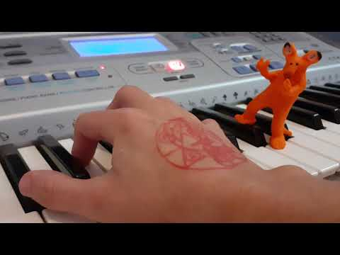 the xiyo, the keyboard and the cat (stop motion animation)