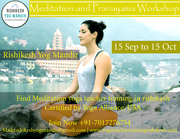 Pranayama and Meditation Workshop September- October Batch