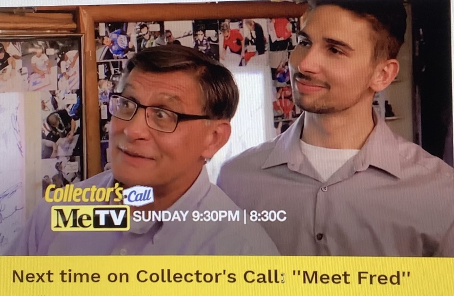 I was On, MeTV's, Collector's Call, S2E6, Meet Fred,with, Lisa Whelchel, shown was