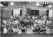 Barratts Factory Christmas Party 1958