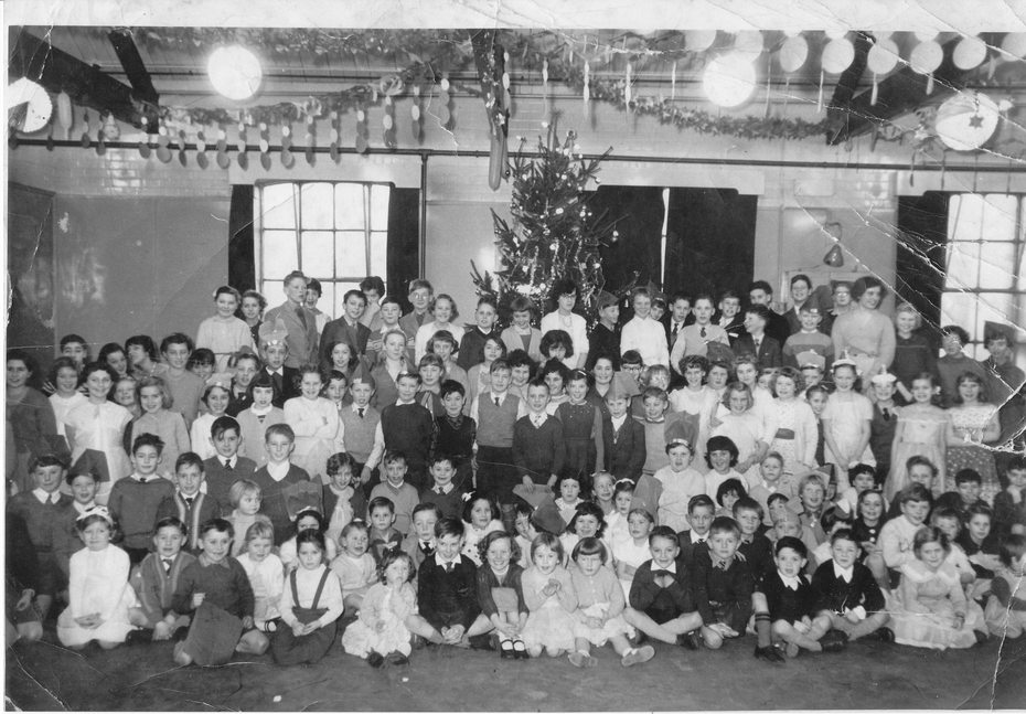 Barratts Factory Christmas Party, 1958
