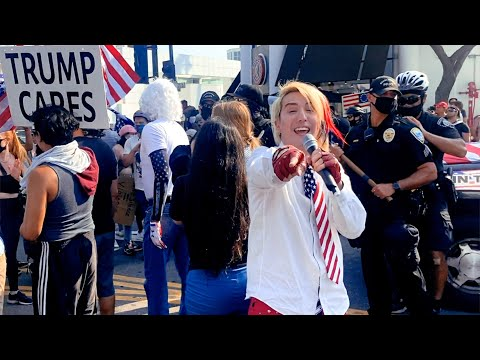 BLM Riot Turns Into MAGA YMCA Dance Party