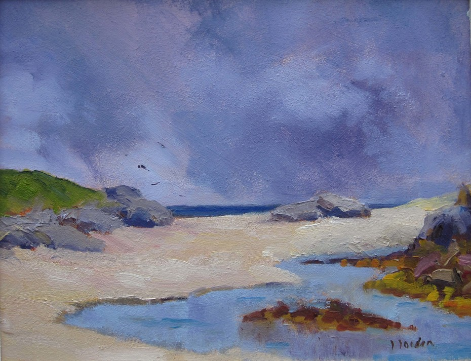 wild september at carna 8x10 oil/panel