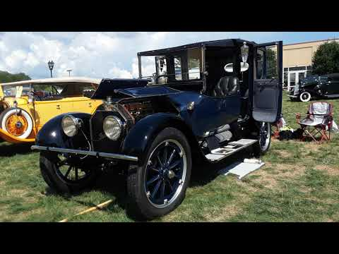 1915 Pierce Arrow 38c Town Car Landau At the 2020 AACA Eastern Nationals