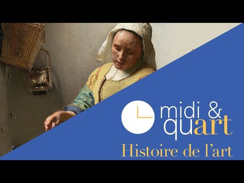 Midi et quart, histoire de l'art : La Laitière de Vermeer