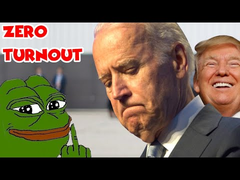 Joe Biden Holds Rally | Only Trump Supporters Show Up To Mock Him!