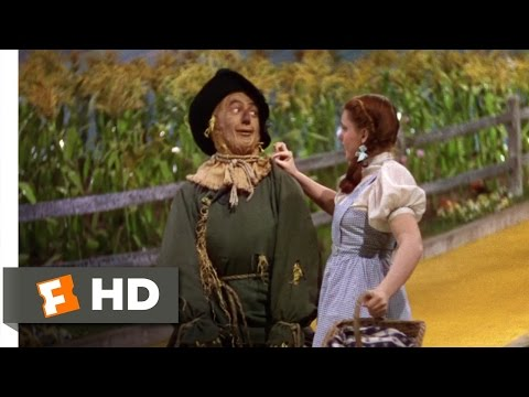 BUZZEZEVIDEO IF I ONLY HAD A BRAIN The Wizard Of Oz - Dorthy And The Scarecrow