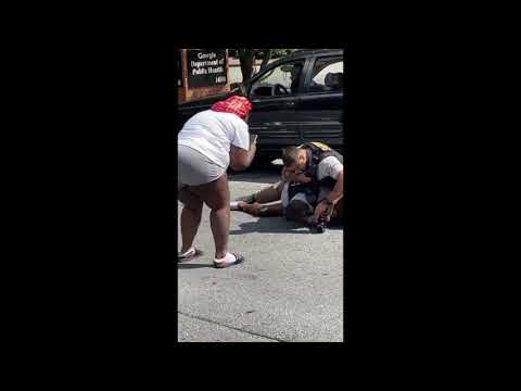 Clayton County Officer's Leave Black Man Bloody and Unconscious!