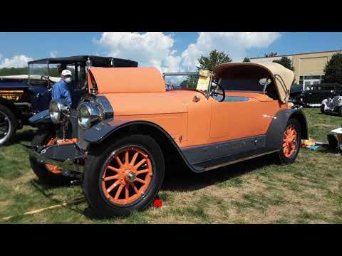 1917 Locomobile Model 48 A Close Up Look At the 2020 AACA Eastern Nationals