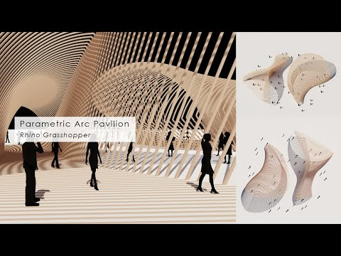 Parametric Arc Pavilion Rhino Grasshopper Tutorial