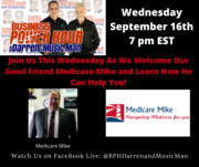 The Business Power Hour with darren and the Music Man