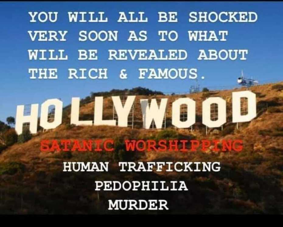 They've sold their souls.And not only the Hollywood rich and famous