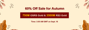 RSorder 60% Off Sale for Autumn