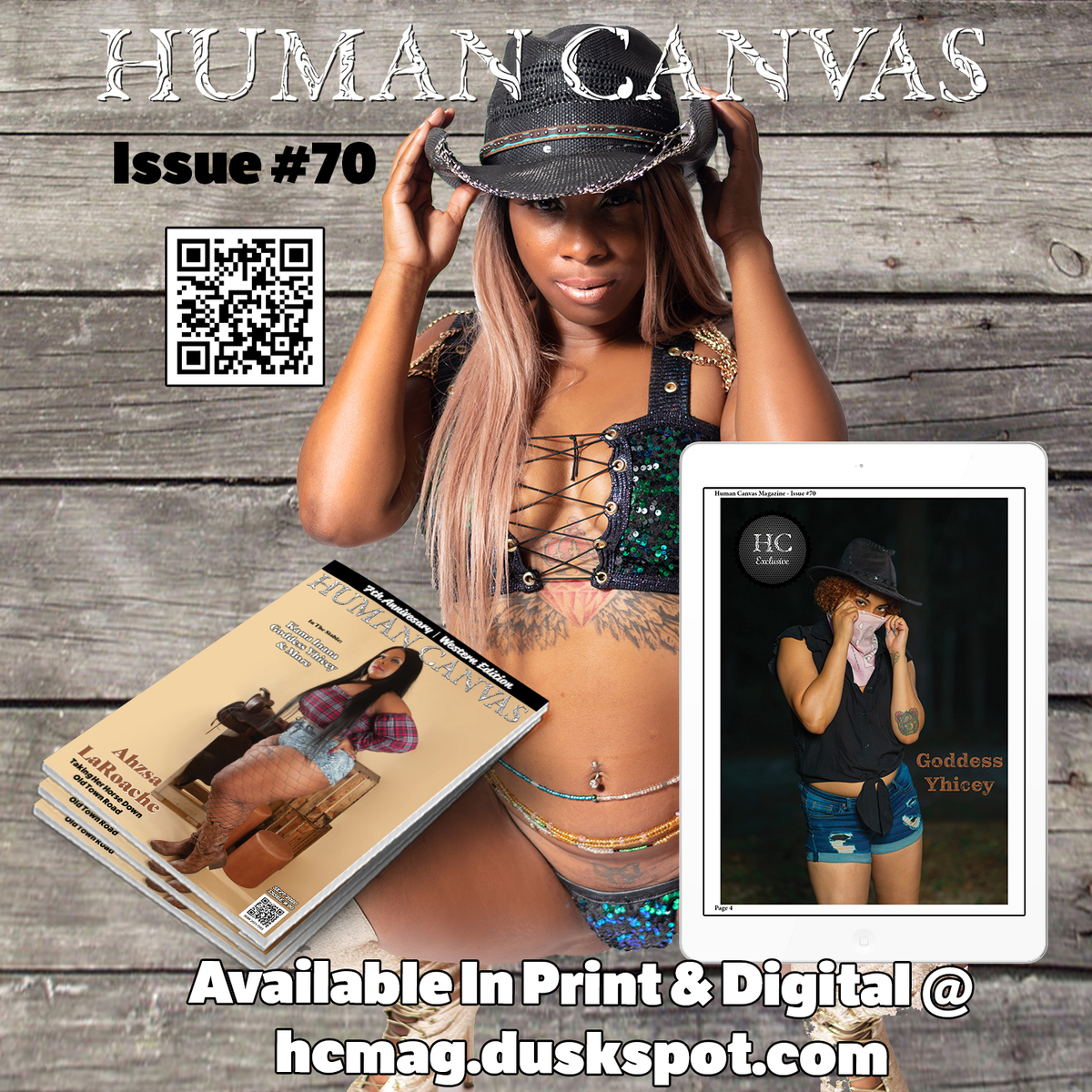 Human Canvas Magazine - Issue #70