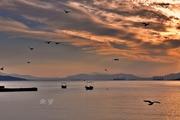 Θάλασσα και πρωινός ουρανός!
