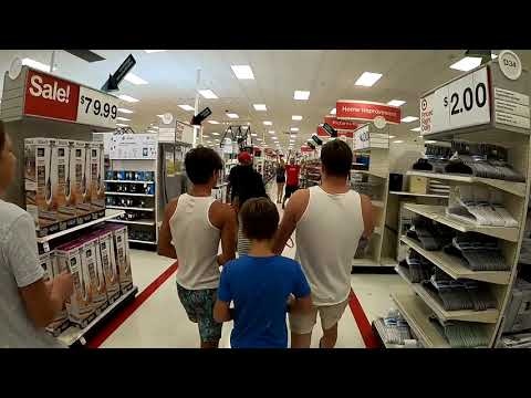 Maskless Flash Mob at Target!