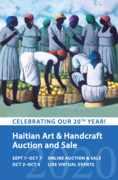 Haitian Art and Handcraft Virtual Auction and Sale