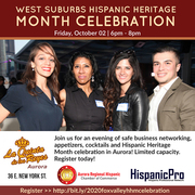 2020 West Suburbs Hispanic Heritage Month Celebration