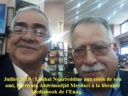 16.4.2019 Avec Abdelmadjid Merdaci à la librairie Media-book de l'Enag (2)