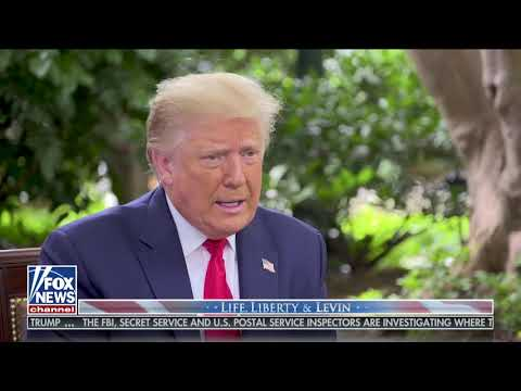 Interview: Mark Levin Interviews Donald Trump on Fox's Life, Liberty & Levin - September 20, 2020