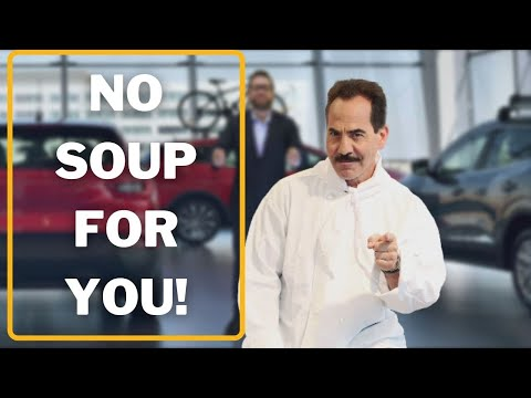 No Soup For You - Daily Tips to Successfully Sell Cars at a Dealership