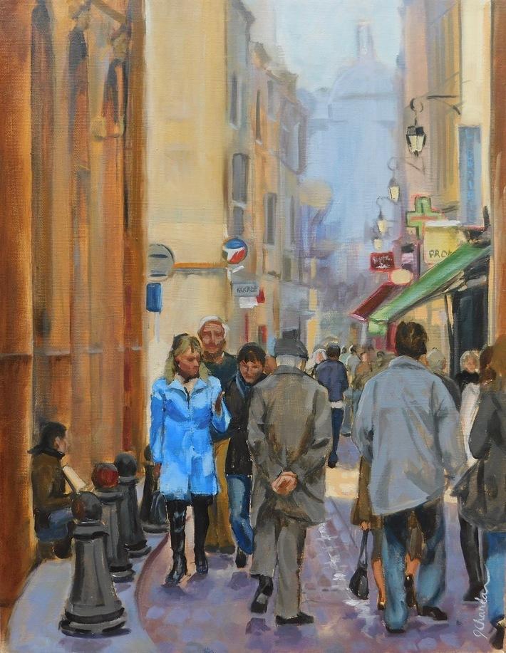 A Street In Aix