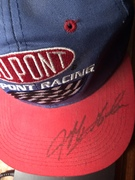 Jeff Gordon signed hat